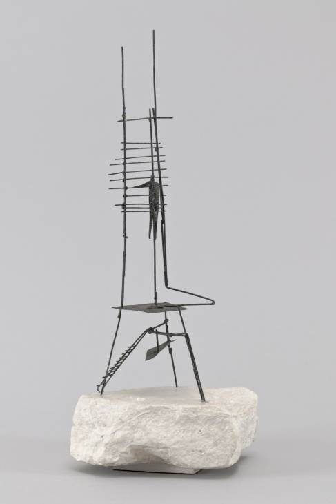 Second Maquette for 'The Unknown Political Prisoner' 1951-2 Reg Butler 1913-1981 Lent by the Estate of Reg Butler 2011     http://www.tate.org.uk/art/work/L02990